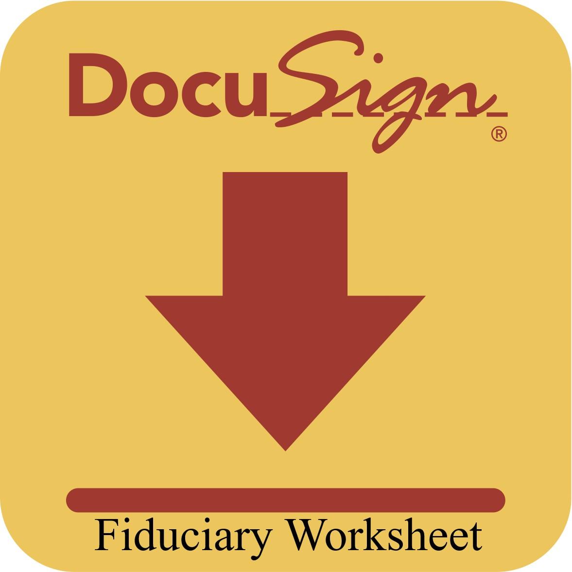 Fiduciary Worksheet