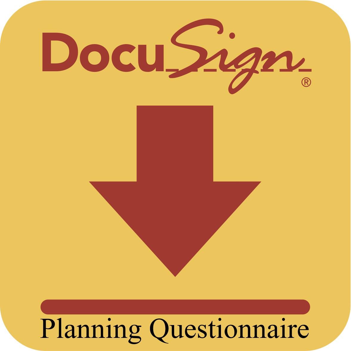 Planning Questionnaire